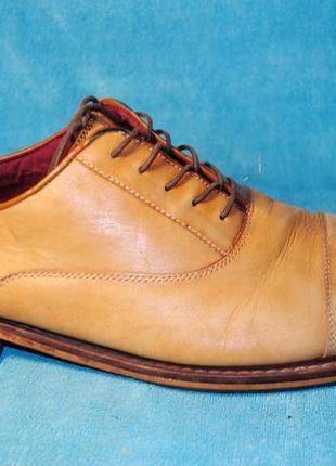 Туфли кожа aston grey 47 размер