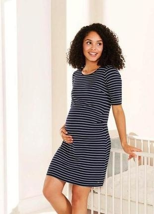 Красивое платье по беременности м 40-42 евро esmara.