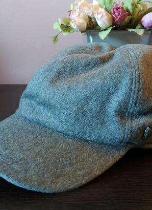 Зимняя кепка roy robson 100% шерсть