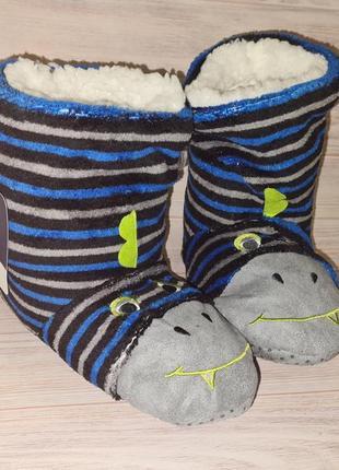 Акция тапочки носки детские yigga мальчику размер 35