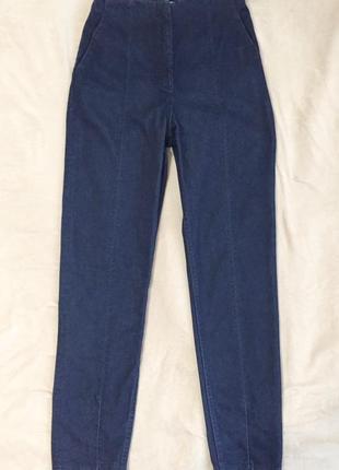 Зауженные джинсы с ультравысокой посадкой h&m