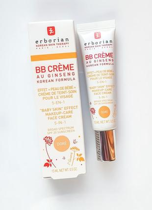 Erborian bb creme dore. многофункциональный bb крем
