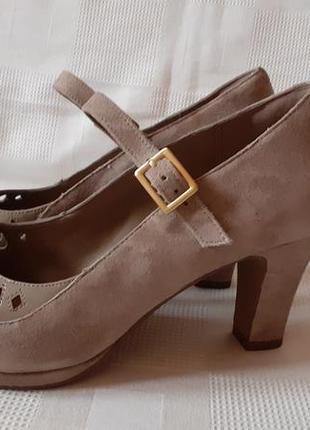 Clarks туфли кожа р. 39,5 ст.25,5