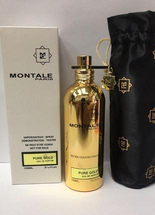 Парфюмированная вода женский montale pure gold, тестер, 100 мл