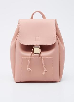 Новый нежный рюкзак из эко кожи sinsay