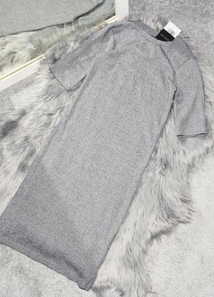 Новое обтягивающее платье в рубчик topshop