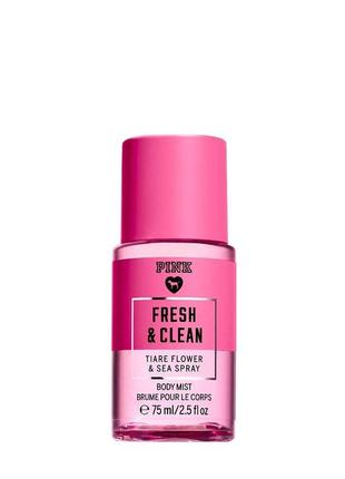 Парфюмированный спрей мист victoria's victorias secret pink fresh and clean