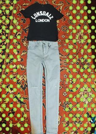 Фірмові штани + футболка в подарунок 🔥