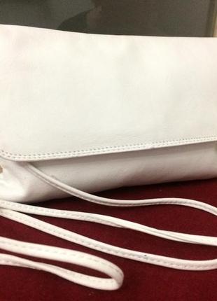 Изящная сумочка карман из натуральной кожи
