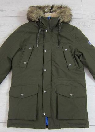 Куртка парка зимняя мужская jack and jones, ветро и водонепроницаемая
