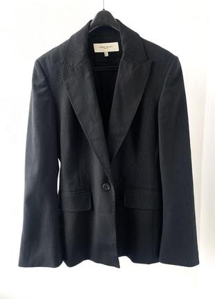 Шерстяной блейзер пиджак