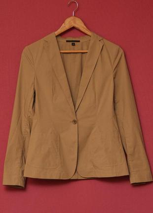 Uniqlo unq минималистичный пиджак о одной пуговке рр s (большимер на m-l)