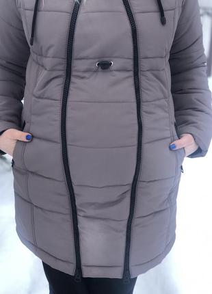 Зимняя куртка 2 в 1 для беременных