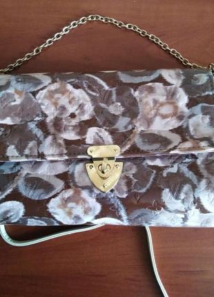 №17. женская сумка кроссбоди в стиле louiss vuitton.