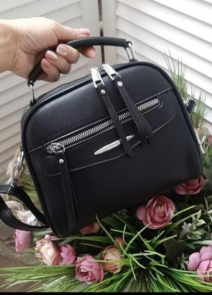 Новая стильная качественная сумка кроссбоди кожа pu / клатч через плечо
