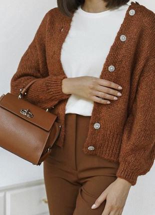 Кардиган свитер с пуговицами