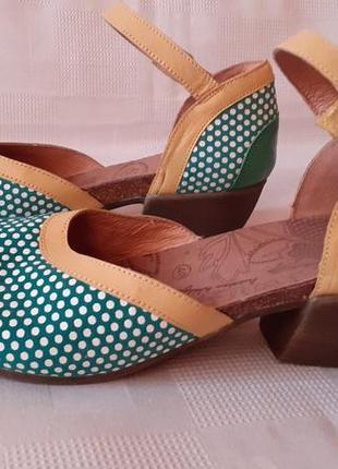 Deerherg кожаные босоножки туфли р. 40 ст. 26 см