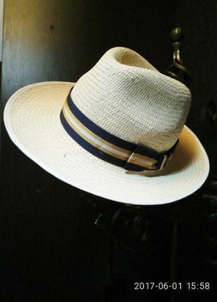 Летняя шляпа из соломки marks&spencer