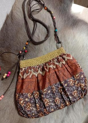 Текстильная сумочка