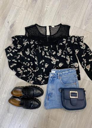 Невероятная блуза в цветочный принт