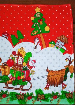 Новый год новогодние праздники украшения салфетки