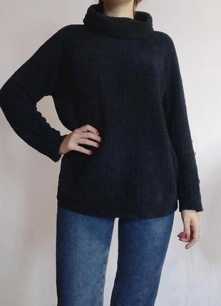 Базовий светрик, светр плюшевий💐 теплий светр під горло