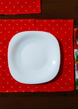 Салфетка для стола новый год праздник украшение