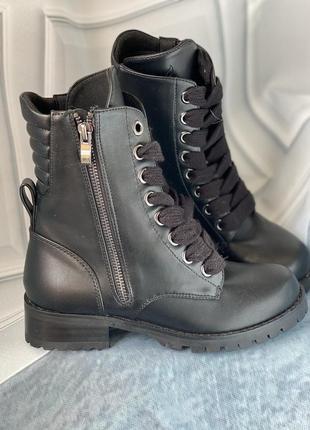 Демисезонные удобные ботинки, на узкую ногу  бренд capezio