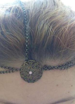 Аксессуар для волос stradivarius медный