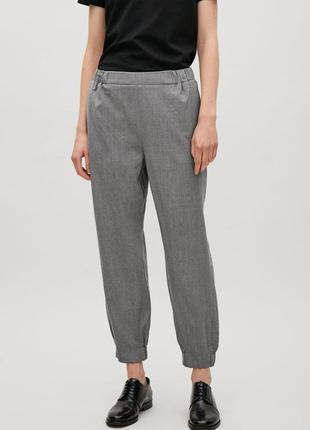 Шерстяні штани брюки cos