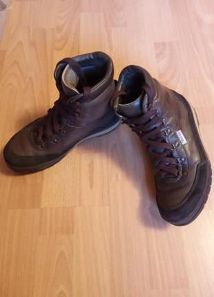 Немецкие, прорезиненные, кожаные женские ботинки, ботиночки, сапожки, полусапожки