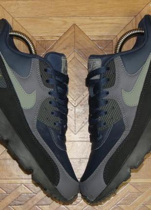Кожаные кроссовки nike air max 90(оригинал)р.38.5