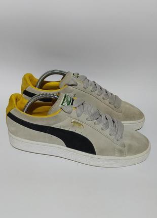 Puma оригинал замшевые кеды кроссовки размер 39