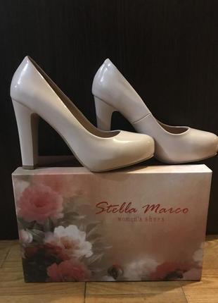 Туфли, свадебные туфли. натуральная кожа.