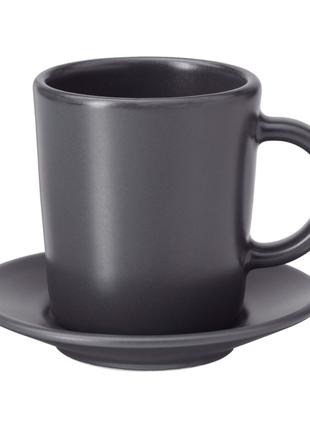 Чашка кофейная с блюдцем, 9 сл