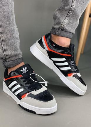 Мужские кроссовки adidas dropstep black