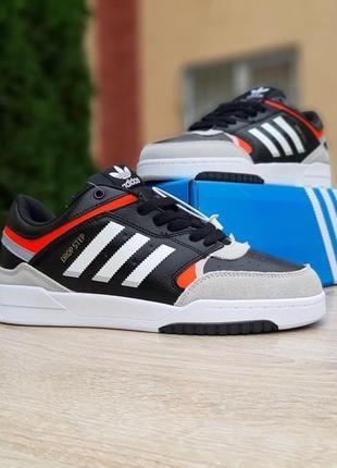 Adidas drop step чёрные ⭕ мужские кроссовки адидас