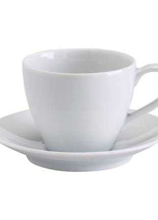 Чашка кофейная с блюдцем, 20 сл