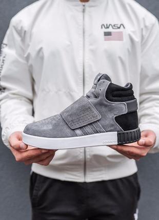 Мужские зимние кроссовки adidas мех