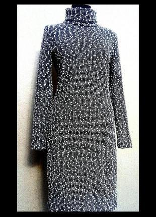 Платье трикотажное, комплект 2 в 1