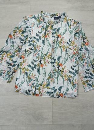 Красивая блуза в принт