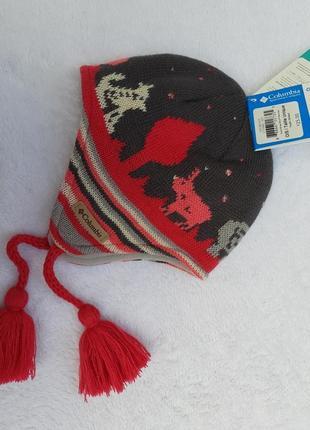 Зимняя шапка на флисе columbia 9-18 мес