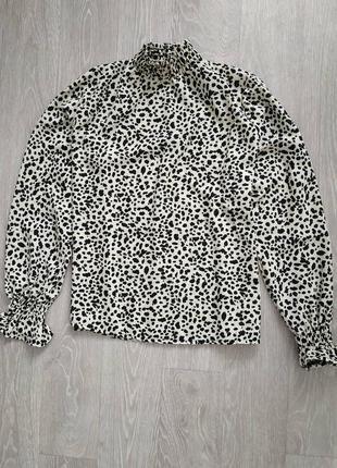 Блуза в пятнышки