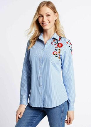 "Рубашка с вышивкой ""m&s collection"""
