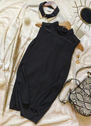 Стильная удлиненная блуза из вискозы zara