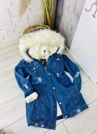 Джинсовый пиджак джинсовка куртка пальто