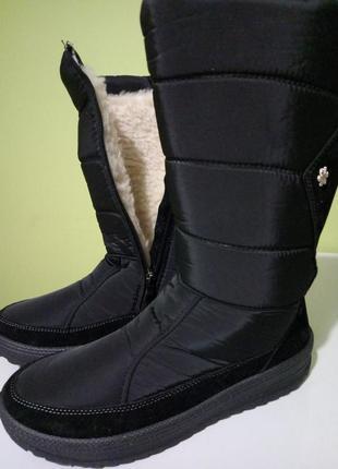 Сапоги дутики ботинки утеплённые зимние