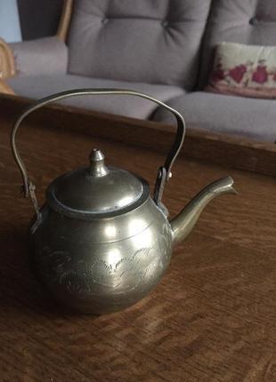 Чайничек старинный