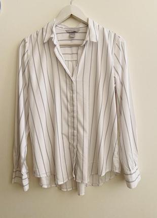 Рубашка h&m p.38/6 #1598 новое поступление 1+1=3🎁