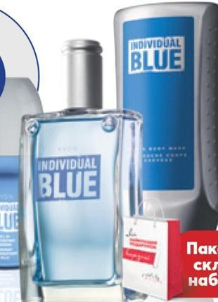 Набір для чоловіків individual blue avon